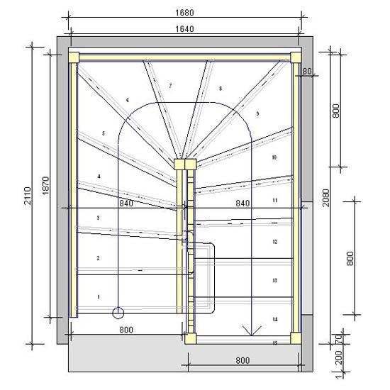 combien coute un escalier sur mesure 20170820121454. Black Bedroom Furniture Sets. Home Design Ideas